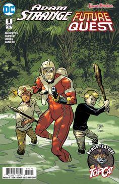 Adam Strange / Future Quest Special #1 (Variant Cover) | Fresh Comics