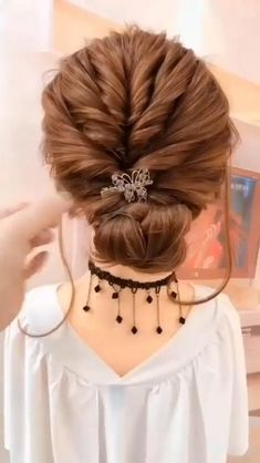 Step By Step Hairstyles, Easy Hairstyles For Long Hair, Easy Wedding Hairstyles, Short Hair Updo Easy, Easy Hair Up, Quick Updo, Easy Updos For Medium Hair, Braids Step By Step, Easy Wedding Updo