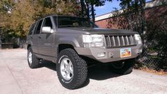 Jeep Builds - Steel bumper for ZJ? -NATE one kinda like this/winch or not. Jeep Zj, Jeep Grand Cherokee, Mopar, Steel, Vehicles, Charger, Autos, Car
