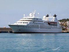 SEABOURN LEGEND, type:Passenger (Cruise) Ship, built:1992, GT:9961, http://www.vesselfinder.com/vessels/SEABOURN-LEGEND-IMO-9008598-MMSI-311085000