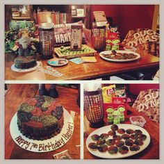 Duck Dynasty Party Table