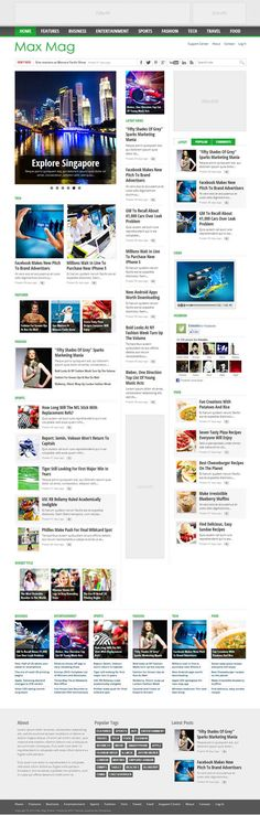 Magazine Responsive WordPress Themes
