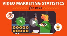 Mind-Blowing Video Marketing Statistics to Step Up Your Marketing Campaign in 2020 The Marketing, Digital Marketing, Inspirational Leaders, Business Advisor, Experiential Marketing, Brand Building, Influencer Marketing, Business Management, Mind Blown