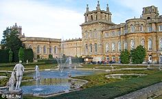 B And B Accommodation Near Blenheim Palace Blenheim Palace, near Oxford, England, built as a gift for the First ...