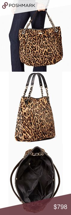 Kate Spade Streetcar Darya Tote An incredible bag by Kate Spade in stunning leopard print. Big enough to hold everything (see photos), and goes with pretty much any outfit. I am open to reasonable offers; however, they must be submitted using the offer button. I do NOT discuss pricing in comments, nor do I negotiate. No trades. kate spade Bags