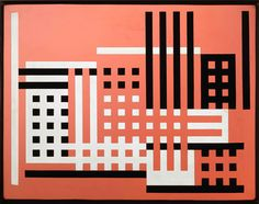 Josef Albers Factory A, 1925/26 Sandblasted flashed glass with black paint 35.5 x 45.7 cm © 2012 The Josef and Anni Albers Foundation/ VG Bild-Kunst, Bonn, Germany/ Artists Rights Society, New York, USA