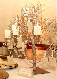 Wishing Tree Guest Book Alternative by WeddingFavorsandMore