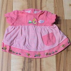 Baby Born Deluxe Winter Set für Puppe Puppen-Kleidung Zapf Creation pink