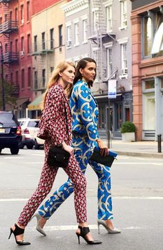Printed Chic Suits