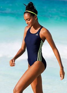 Navy Sports Swimsuit by adidas Performance