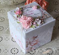 Cześć! Dziś przychodzę do Was ze ślubnym boxem . Kolekcja papierów PURPLE GARDEN jest idealna do tworzenia tego rodzaju projek...