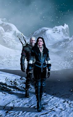 One nice screenshot! Geralt & Yen