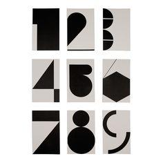 Geometric Numbers by Shiro to Kuro.