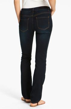 Liverpool Jeans Company Sadie Straight Leg Supersoft Stretch Jeans (Petite) (Online Exclusive)
