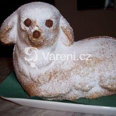 Fotografie receptu: Velikonoční beránek z piškotového těsta