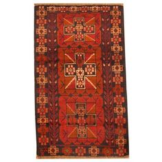 Shop for Herat Oriental Afghan Hand-knotted Tribal Balouchi Wool Rug (2'8 x 4'4). Get free delivery at Overstock.com - Your Online Area Rugs Shop! Get 5% in rewards with Club O!