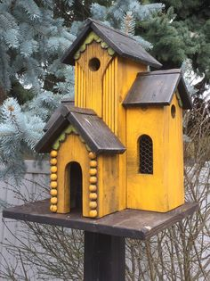 31 Amazing Stand Bird House Ideas For Garden. If you are looking for Stand Bird House Ideas For Garden, You come to the right place. Below are the Stand Bird House Ideas For Garden. Bird Houses Painted, Bird Houses Diy, Fairy Houses, Victorian Birdhouses, Rustic Birdhouses, Bird House Feeder, Bird Feeders, Outdoor Projects, Outdoor Decor