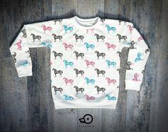 Horse print shirt by Pocopato Bluza dziecięca Pocopato