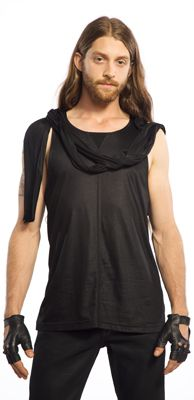 LIP SERVICE Widow sleeveless shirt #M12-095