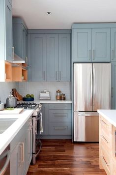 Kitchen Cabinet Types - CLICK THE PICTURE for Various Kitchen Ideas. #cabinets #kitchenorganization
