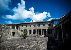 El patio del #hotelrural era antiguamente el patio de la #fábrica de #salazón. #turismorural #galicia