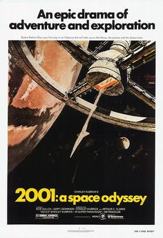 [ 2001: A SPACE ODYSSEY POSTER ]