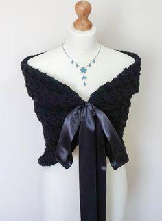 Bridal Jacket Wedding Bolero Shrug Shawl Cover Up Capelet Cape Stole Wrap Weddi