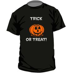T-shirt rigolo : TRICK OR TREAT!