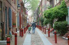 Elfreths-Alley, Philadelphia PA.