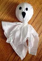 Simple Ghost Craft : Macaroni Kid