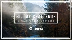 I just finished day 7 of the @YouVersion plan '30 Day Challenge: A Walk Through Proverbs'. Check it out here: