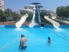 Parque Acuatico Aqua-Tropic en Almuñécar, Andalucía