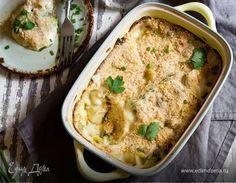 Гратен невероятно прост в приготовлении. Можно использовать даже замороженный овощи. Запекание раскроет в капусте сладкие нотки.