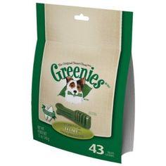 Greenies Dog Dental Chew Treats Teenie 12oz 43ct