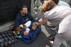 Homeless man risks his life to save pet he calls his child » DogHeirs | Where Dogs Are Family « Keywords: Dublin, Ireland, rabbit, Jack Russell Terrier