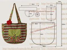 Bez Çanta Modelleri/Kalıpları,Çanta Dikimi,Kalıbı