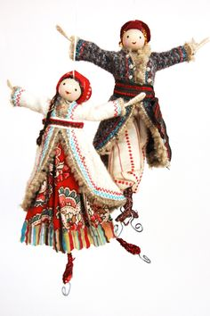 Russian Skaters - Babushka- Halinka's Fairies