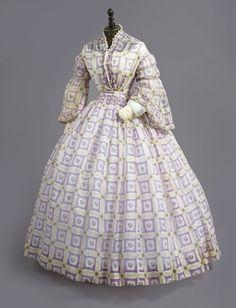 Day dress ca. 1860