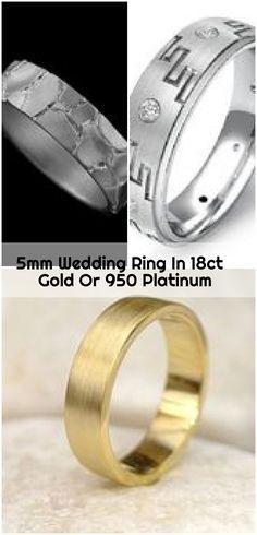 Wedding Ring In Gold Or 950 Platinum , wedding ring in gold or 950 platinum by lilia nash jewellery Platinum Wedding Rings, Platinum Ring, Wedding Men, Wedding Bands, Engagement Rings, Jewellery, Enagement Rings, Wedding Rings, Jewels
