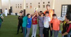مدرسة مشكاة الفيصلية تقيم معسكراً رياضياً لطلاب صف خامس وسادس ابتدائي