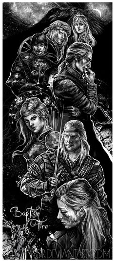 Baptism of Fire characters collage by JustAnoR on DeviantArt