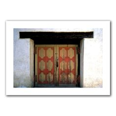 'Mission Door' by Kathy Yates Photographic Print on Canvas