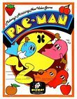Pac-Man POSTER Midway 1980 Arcade Video Game Rare Large Ghost Fruit - *RARE*, 1980, Arcade, Fruit, Game, Ghost, Large, Midway, PacMan, POSTER, Video