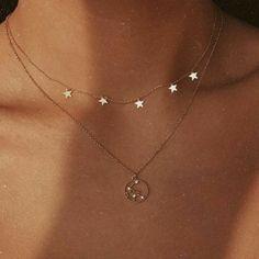 Moon Jewelry, Star Jewelry, Cheap Jewelry, Simple Jewelry, Cute Jewelry, Jewelry Accessories, Jewelry Ideas, Delicate Jewelry, Jewelry Quotes