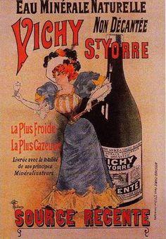 Vintage Wine Art | ArtbyJean - Vintage Clip Art: Four different advertising poster prints ...