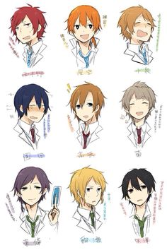 If Love Live! characters were boys....