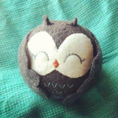 Hooty Hoo! Gray Owl Plushie!