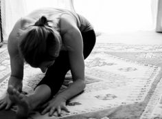 So I began this practice that is Ashtanga back in November and started a home practice around early January. I couldn't afford to become a member of a studio so in addition to my home practice I did guided led classes once or twice a week. Just that was changing my life so out of self-love I finally