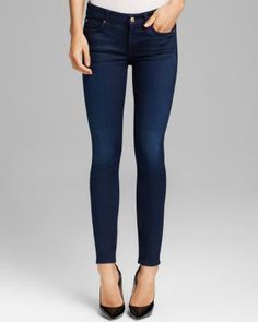 7 For All Mankind skinny Jeans in black and denim order through my mom she can get good deals at the outlet