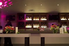 Every stop on the Calling All My Girls Tour is decorated to be as chic as an upscale club.